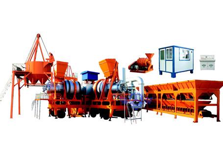 泉筑LQY-80移动强制式沥青混凝土搅拌设备