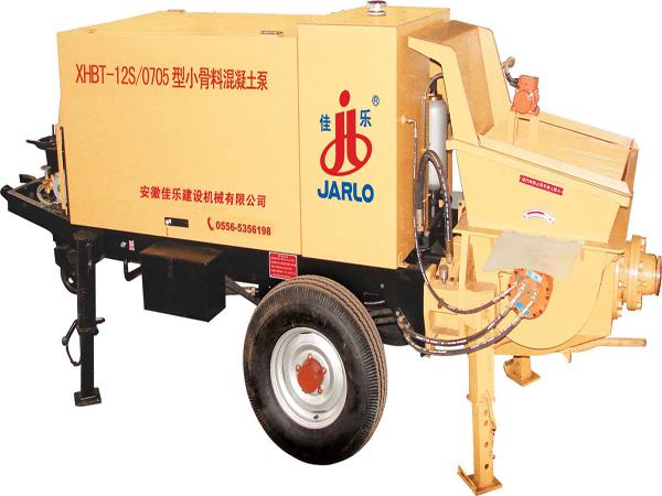 佳乐XHBT-12S/0706小骨料混凝土泵