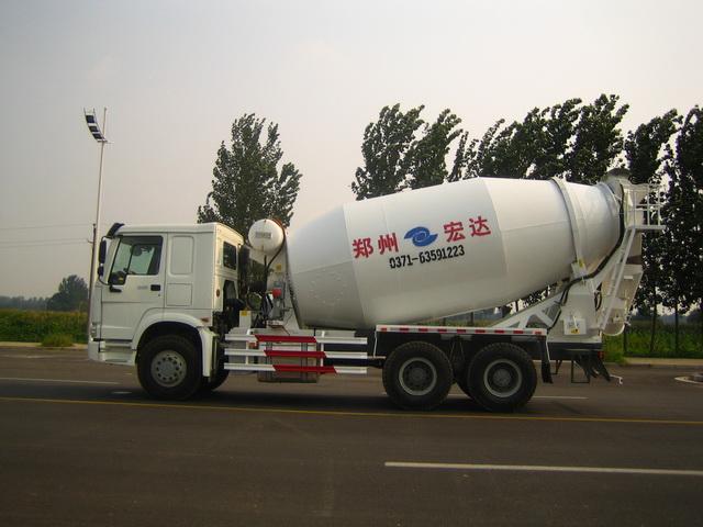 宏达JYC5254GJB混凝土搅拌运输车