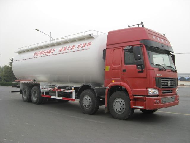 宏达JYC5314GFL粉粒物料运输车