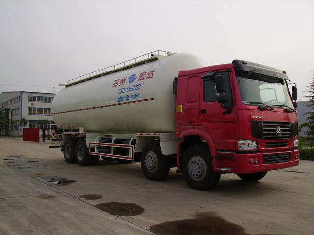 宏达JYC5311GFL粉粒物料运输车