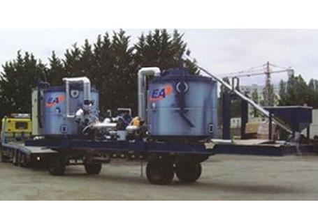 欧亚机械EP 6000/8000乳化沥青生产设备