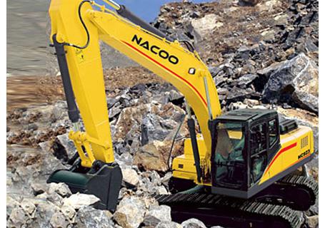 纳科重工NC923挖掘机