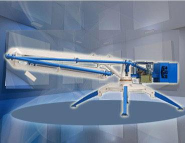 尤尼克HGY15移动式混凝土布料机
