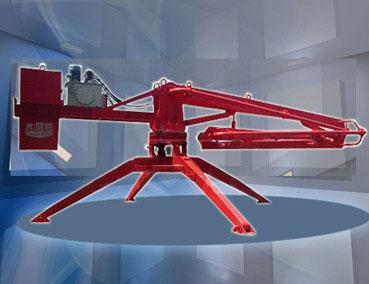 尤尼克HGY17移动式混凝土布料机