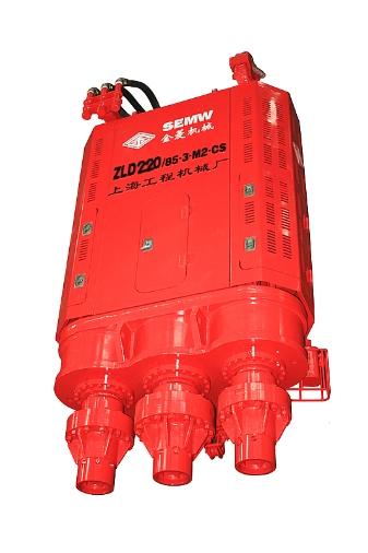 金菱机械ZLD220/85-3-M2-CS超级三轴式连续墙钻孔机