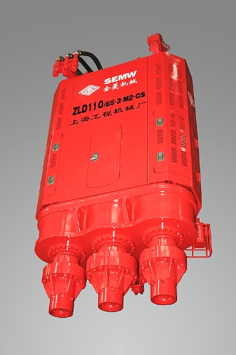 金菱机械ZLD110/65-3-M2-CS超级三轴式连续墙钻孔机