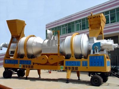海华筑机YQLZZ沥青混合料热再生搅拌设备图片