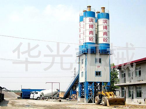 华光机械HZS系列商品水泥搅拌站
