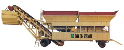 海华筑机YWB系列移动式稳定土搅拌设备图片