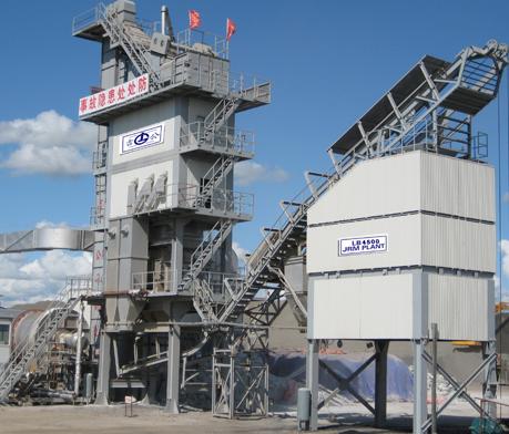 森远LB4000沥青混合料搅拌设备