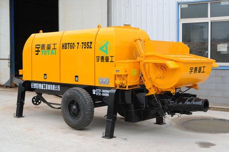 宇泰HBT系列闸板阀混凝土泵