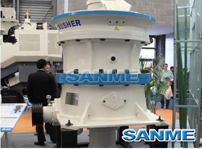 山美SMG系列单缸液压圆锥破碎机