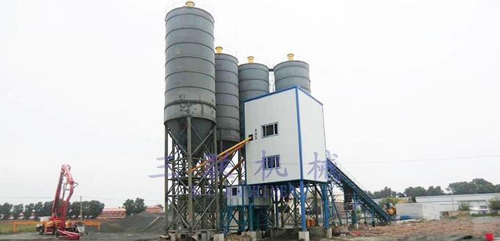 三联机械HZ(L)S120商品混凝土搅拌(楼)站