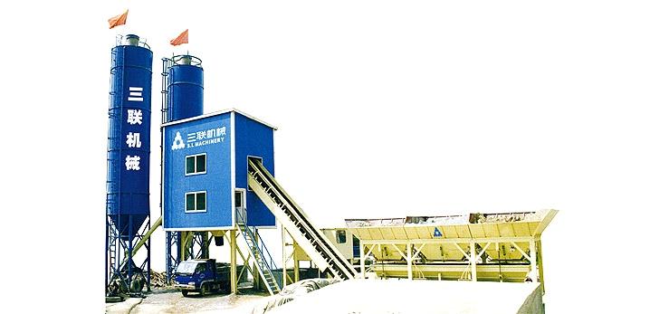 三联机械HZS模块式混凝土搅拌站