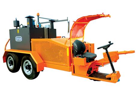 森远GFX-600自行式拖挂灌缝机图片