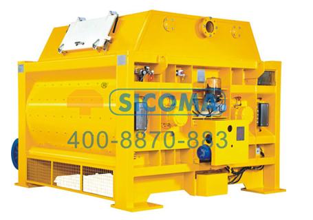 仕高玛MAW 6000水工专用双卧轴混凝土搅拌机