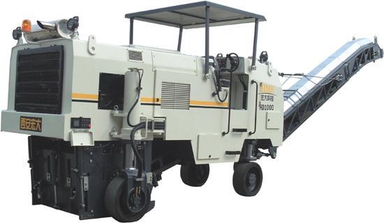 宏大HD1000M铣刨机