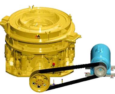 东蒙机械DMS超级液压圆锥破碎机