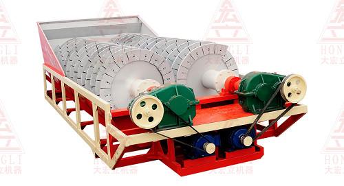 大宏立LX系列双螺旋洗砂机