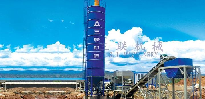 三联机械WCB500模块式稳定土厂拌设备