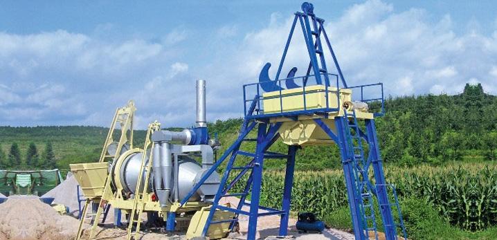 三联机械HLB/QLB系列移动式沥青搅拌机