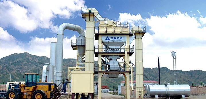 三联机械LB系列沥青混凝土搅拌设备