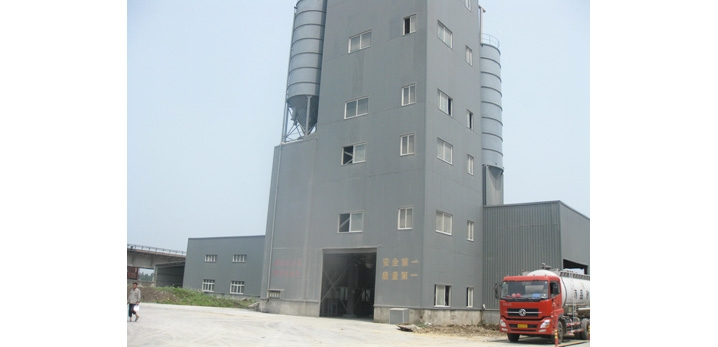 三联机械QLB干混砂浆生产线