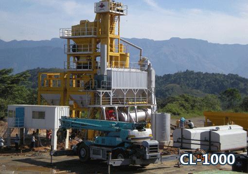 北京加隆CL-1000沥青混合料搅拌设备