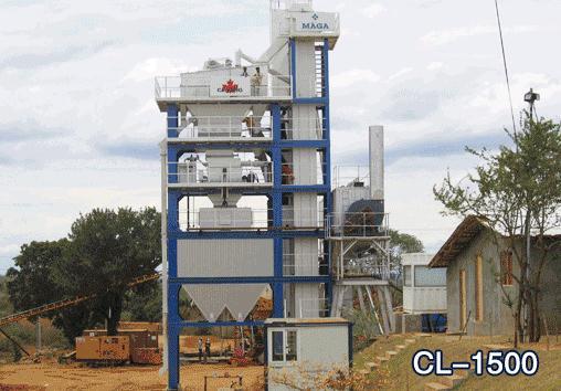 北京加隆CL-1500沥青混合料搅拌设备