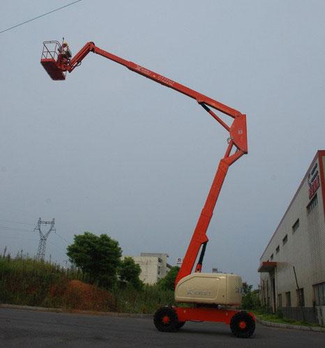 运想GTZZ20Z曲臂式高空作业平台