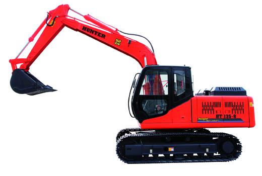 恒特HT135-8挖掘机图片