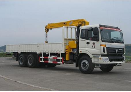 牡丹江专用汽车12吨福田底盘随车起重机
