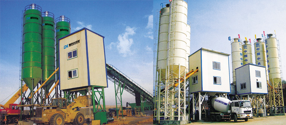德科达HZ(L)S系列商品混凝土搅拌站