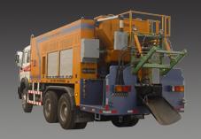 思嘉特HRF-100改性乳化沥青稀浆封层车