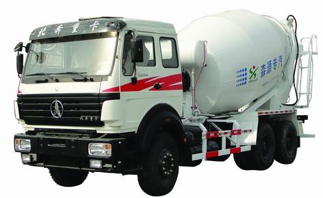 森源SMQ5251GJB型混凝土搅拌运输车