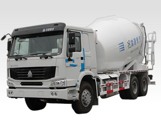 森源SMQ5256GJB型混凝土搅拌运输车
