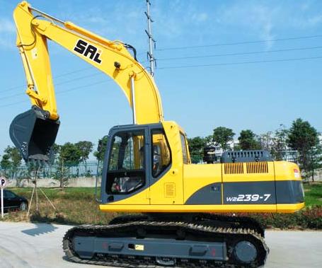 上力重工W2139/W2239/W2329挖掘机