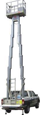 赛奇自行走单桅柱高空作业平台高空作业平台