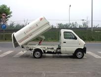 亚洁BBQJ5021ZLJ自卸式垃圾车