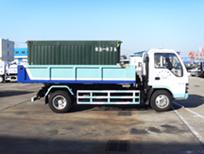 亚洁BQJ5070ZLJ自卸式垃圾车