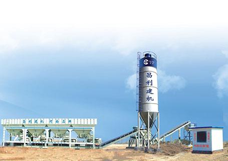 朝阳建工MWCB-300-500型模块式称量稳定土搅拌站图片