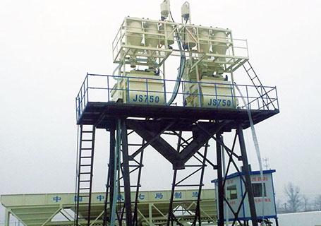 朝阳建工JS750混凝土搅拌机图片