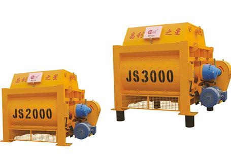 朝阳建工JS2000/JS3000混凝土搅拌机图片