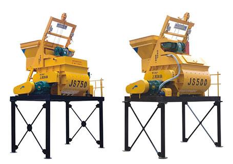 朝阳建工JS系列混凝土搅拌机图片