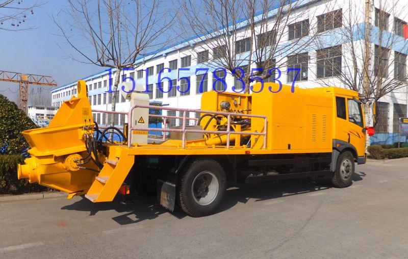 铁力士HDT5120THB车载式混凝土输送泵外观图1