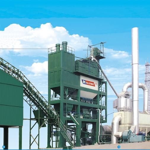 无锡环球QLB-5000沥青混合料搅拌设备图片