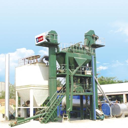 无锡环球QLB-1000沥青混合料搅拌设备图片