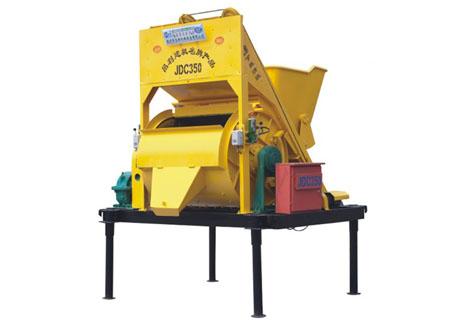 朝阳建工JDC350混凝土搅拌机图片