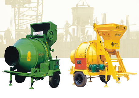 朝阳建工JDC/JZC系列混凝土搅拌机图片
